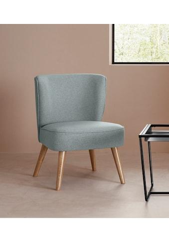 LeGer Home by Lena Gercke Sessel »Sarina«, In 2 Bezugsqualitäten, Sitz und Rücken... kaufen