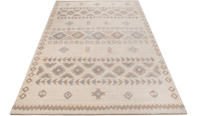 Home affaire Teppich »Amara«, rechteckig, 14 mm Höhe, in Berber-Optik, Wohnzimmer kaufen