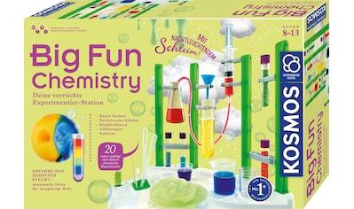 """Kosmos Experimentierkasten """"Big Fun Chemistry"""" kaufen"""
