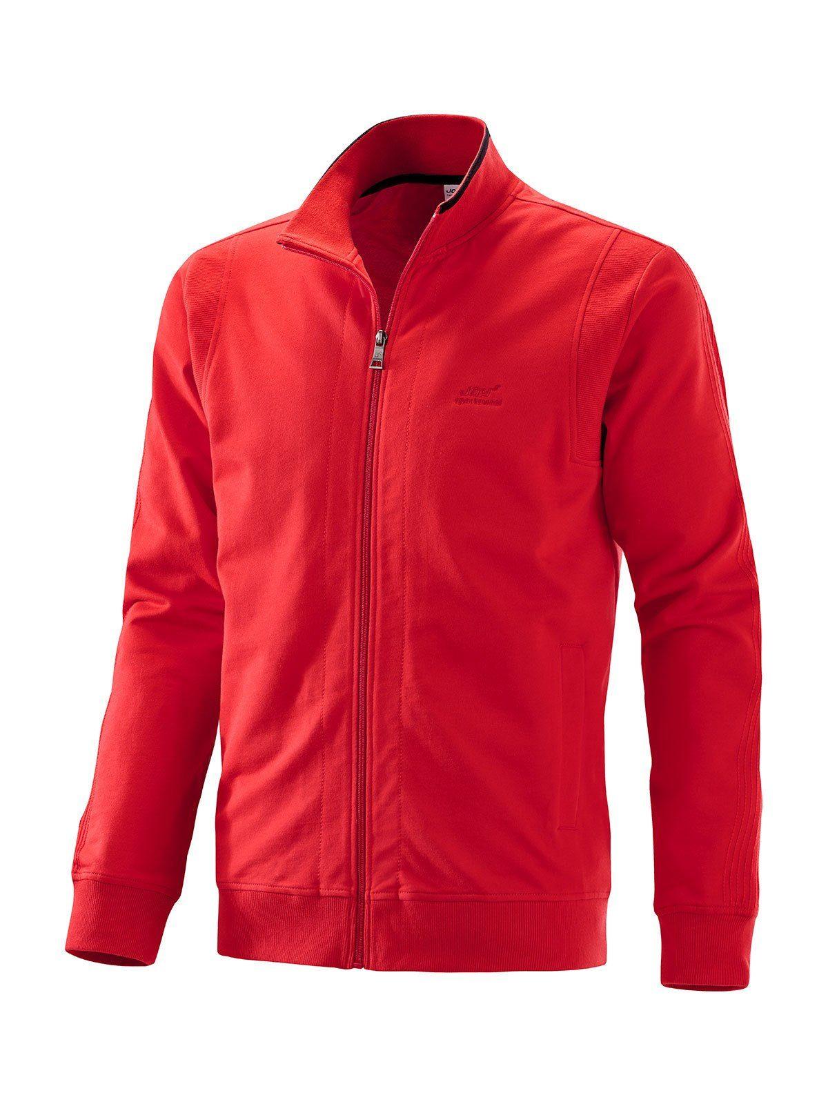 Joy Sportswear Trainingsjacke DIRK | Sportbekleidung > Sportjacken | Rot | Joy Sportswear
