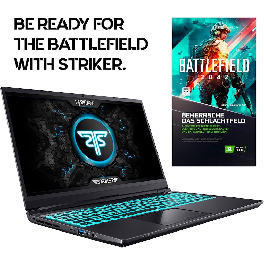 "Hyrican Gaming-Notebook »Striker 1640«, (43,94 cm/17,3 "" Intel Core i7 GeForce RTX 3080 Max.Q\r\n 2000 GB SSD), 300 Hz Display"