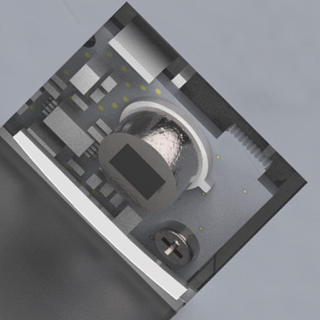steinel Außen-Wandleuchte »DL Vario Quattro LED«, LED-Board, 1 St., Warmweiß, Zeiteinstellung von 5 Sek. - 30 Min.