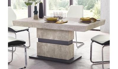 Homexperts Säulen-Esstisch »Marley«, Breite 140 oder 160 cm kaufen