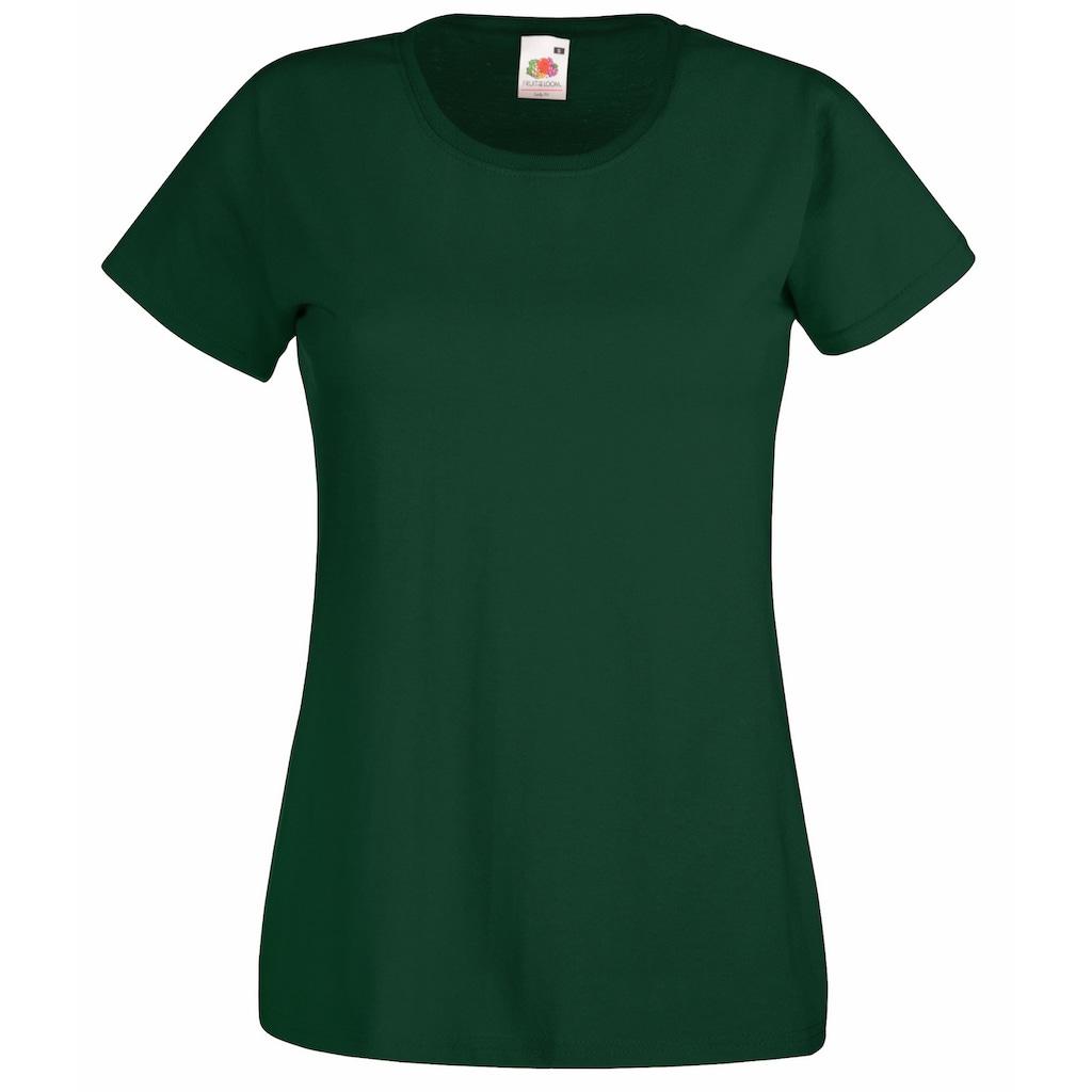 Fruit of the Loom T-Shirt »Lady-Fit Damen«