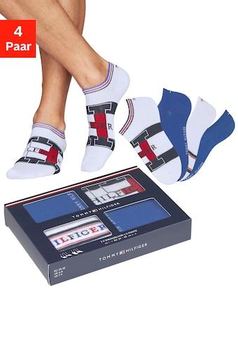 TOMMY HILFIGER Sneakersocken (Box, 4 Paar) kaufen