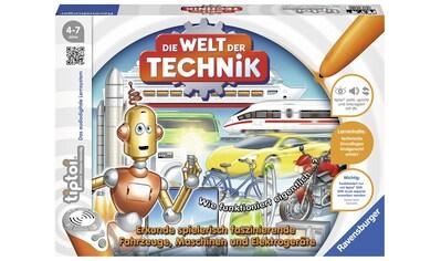 """Ravensburger Spiel, """"Die Welt der Technik"""" kaufen"""