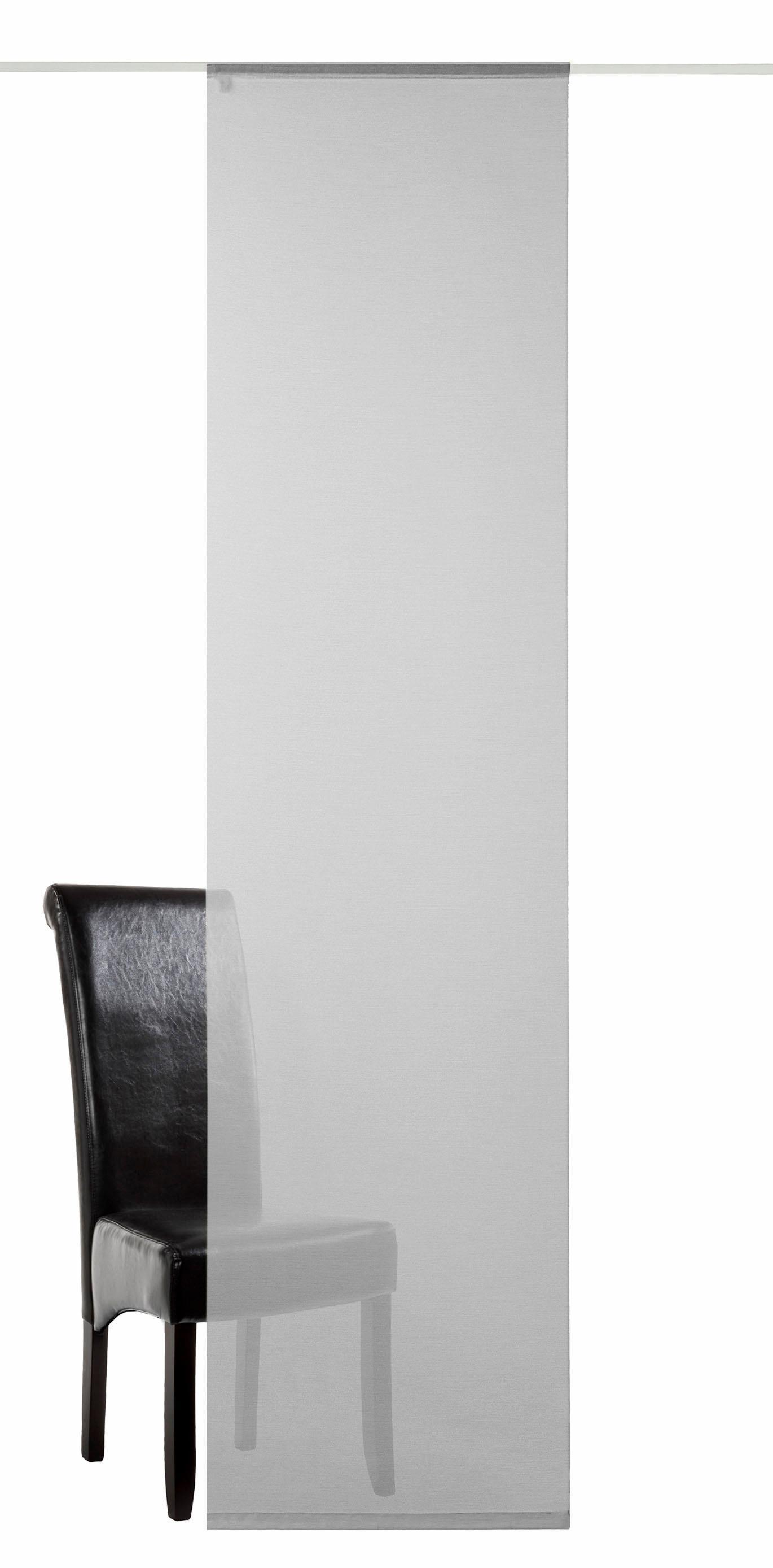 Schiebegardine deko trends Allure mit Klettband (1 Stück mit Zubehör)
