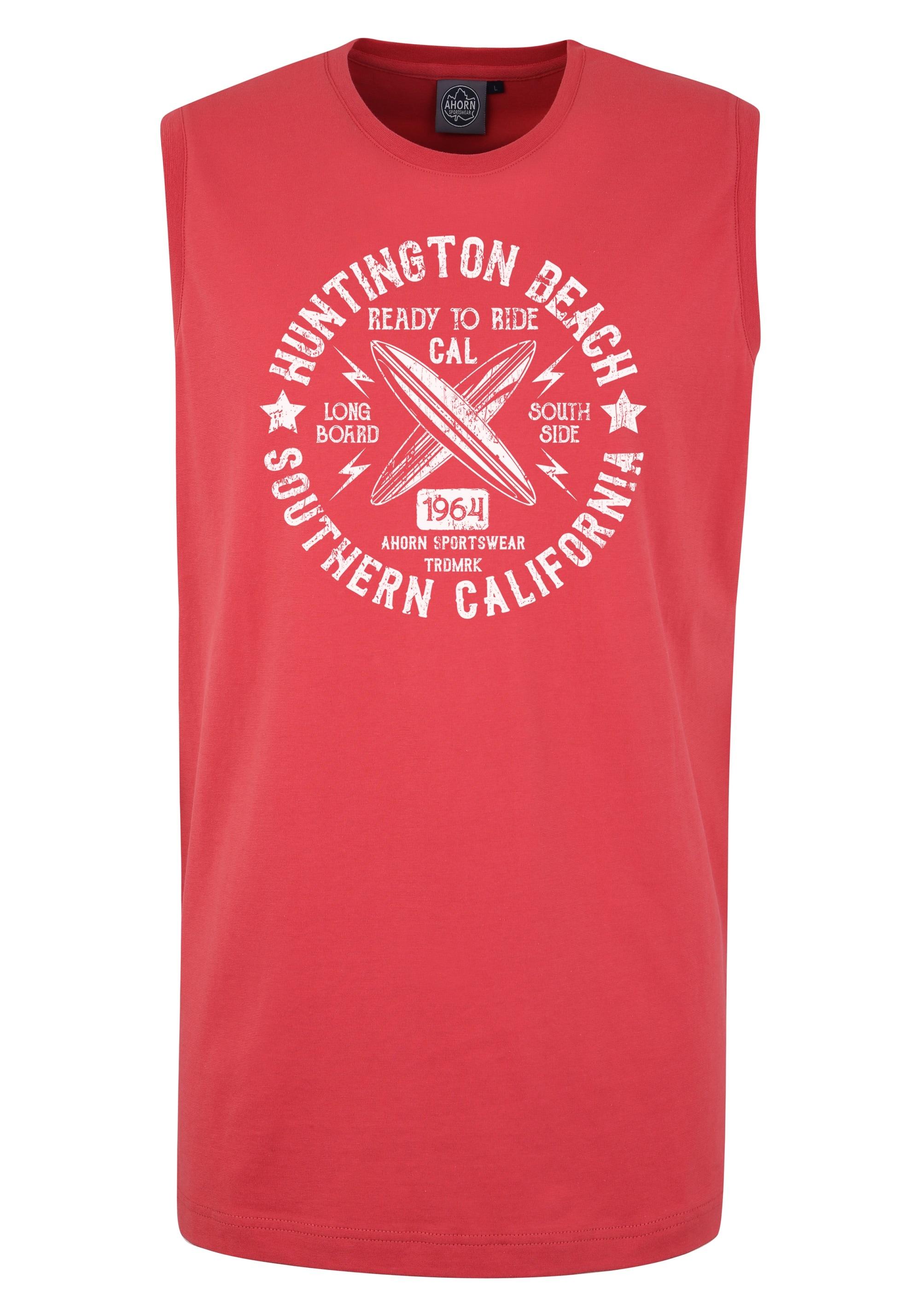 ahorn sportswear -  Tank-Top mit Surfer-Print