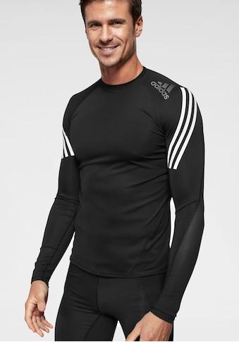 adidas Performance Langarmshirt »ALPHASKIN SPORT LEVEL LONGSLEEVE 3 STRIPES« kaufen