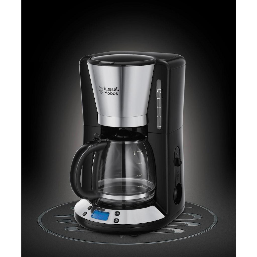 RUSSELL HOBBS Filterkaffeemaschine »Victory 24030-56«, 1x4, Digitale Glas-Kaffeemaschine