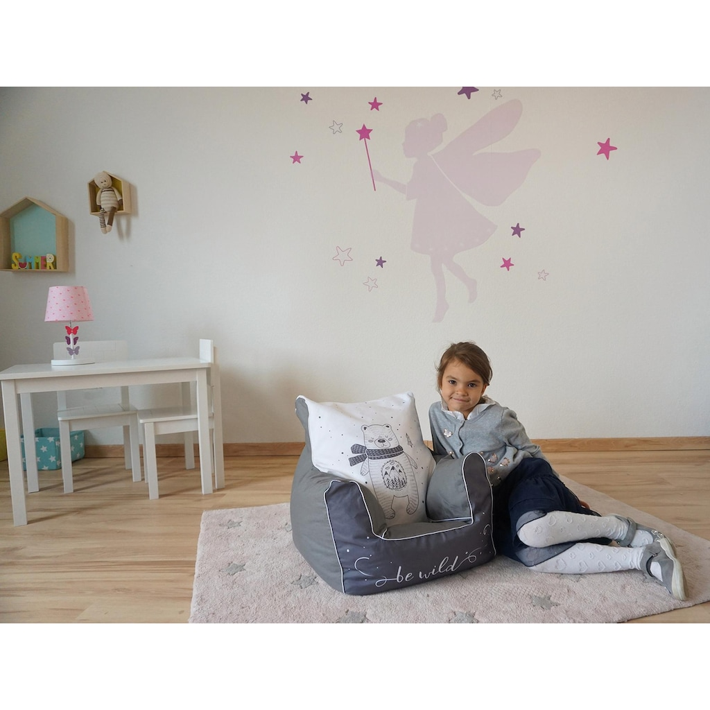 Knorrtoys® Sitzsack »Bear«, für Kinder; Made in Europe