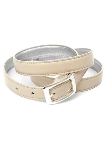 Anthoni Crown Ledergürtel, Wendegürtel in zwei Trendfarben kaufen