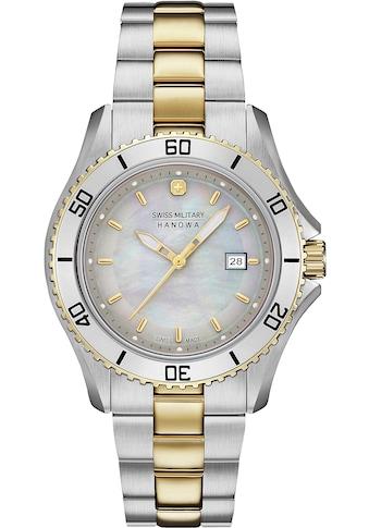 Swiss Military Hanowa Schweizer Uhr »NAUTILA PEARL, 06-7296.7.55.009« kaufen