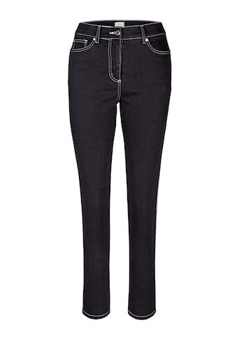 Mona Jeans mit seitlichem Kordelband kaufen