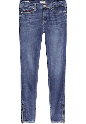 TOMMY JEANS Skinny - fit - Jeans »NORA MR SKNY ANKLE ZIP DYBSD« kaufen