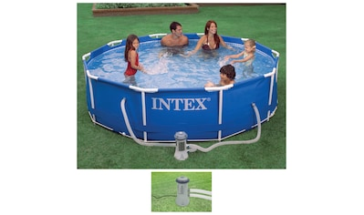 Intex Rundpool »Metal Frame«, ØxH: 366x76 cm kaufen