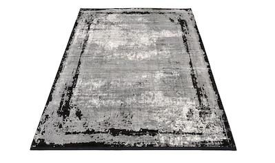 machalke® Teppich »frame«, rechteckig, 8 mm Höhe, Design Teppich, Wohnzimmer kaufen