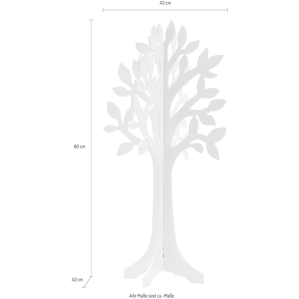Schneider Dekoobjekt, Maße (B/T/H): 42/42/80 cm