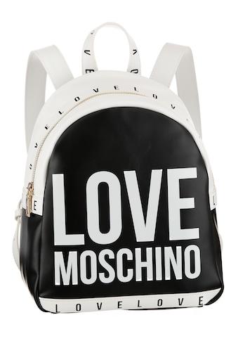 LOVE MOSCHINO Cityrucksack, mit modischem Schriftzug kaufen