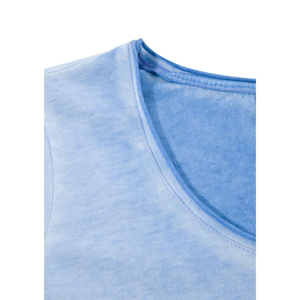 OS-Trachten Trachtenshirt, mit Printmotiv
