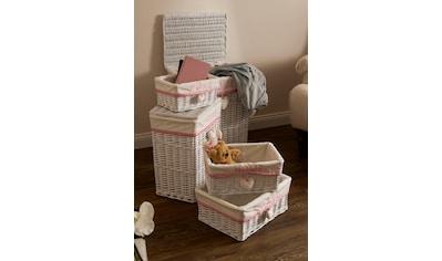 Home affaire Wäschekorb »Home« (Set, 5 Stück) kaufen