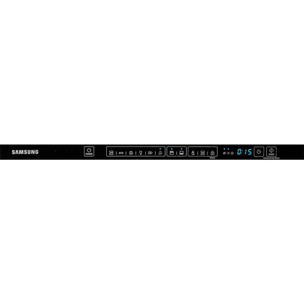 Samsung vollintegrierbarer Geschirrspüler »DW60M6040BB/EG«, DW4500, DW60M6040BB, 13 Maßgedecke, Luftschallemission nur 44 dB(A)