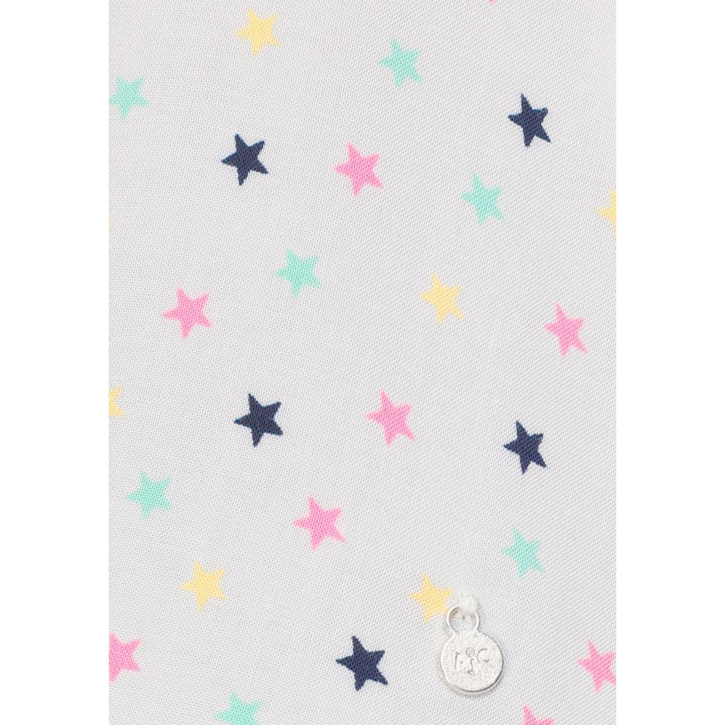 AJC Hemdbluse, mit angesagtem mehrfarbigen Sternen-Allover-Druck