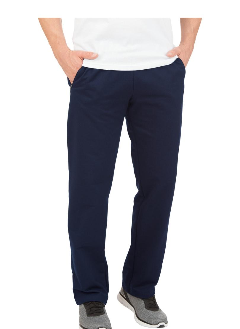 TRIGEMA Freizeithose aus Sweat-Qualität | Sportbekleidung > Sporthosen | Blau | Baumwolle - Polyester | Trigema