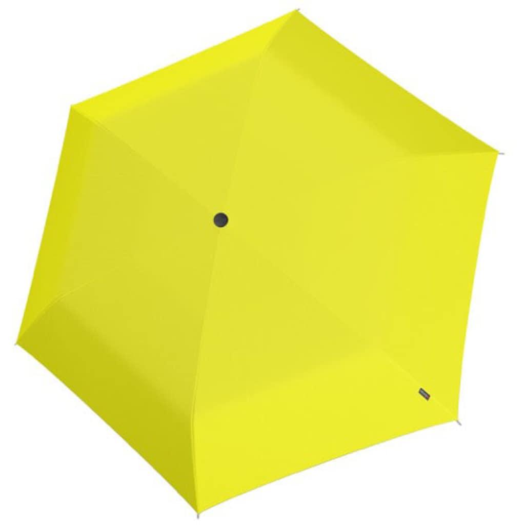 Knirps® Taschenregenschirm »Knirps U.200 Ultra Light Duo Yellow«