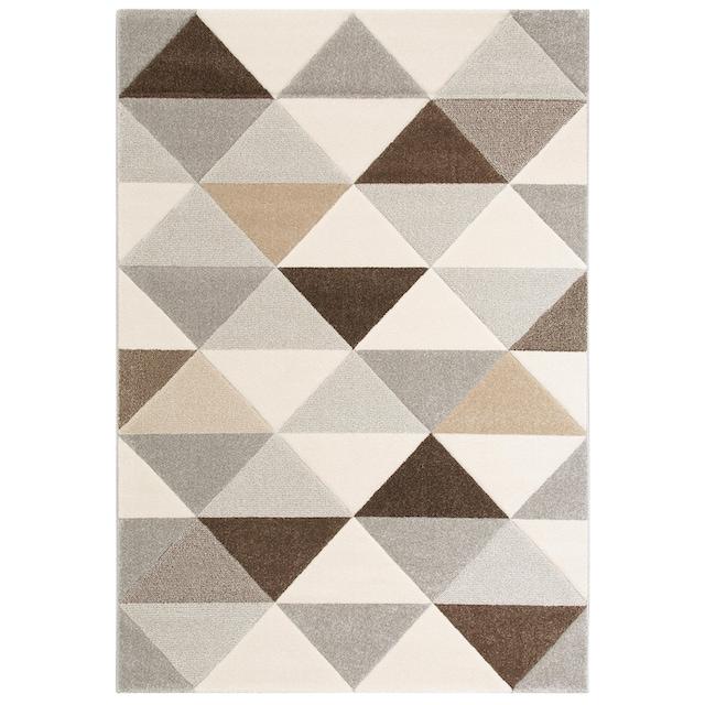 Teppich, »Berlad«, Bruno Banani, rechteckig, Höhe 13 mm, maschinell gewebt