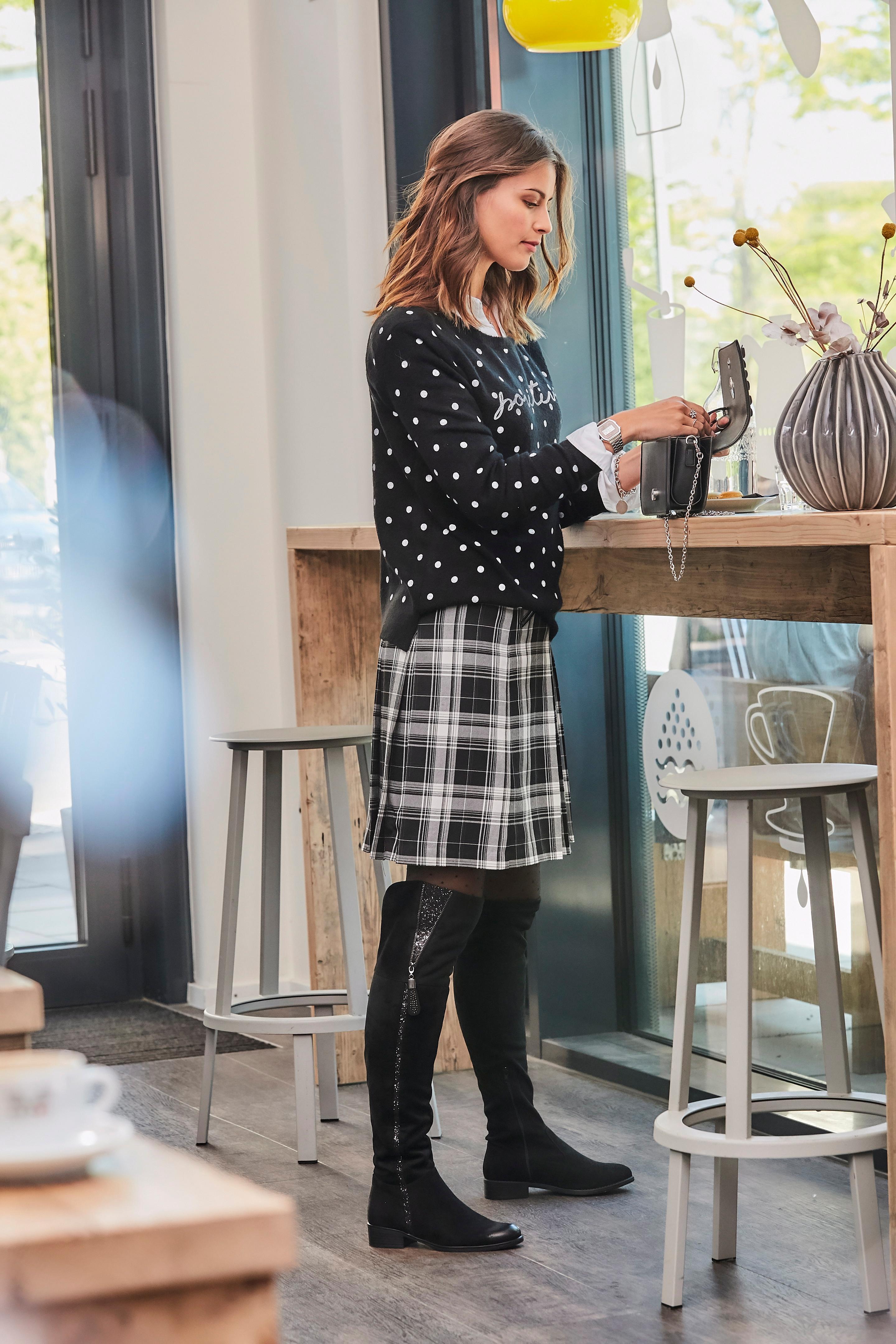 d70b09e20ca0 Aniston CASUAL Faltenrock online bestellen | BAUR