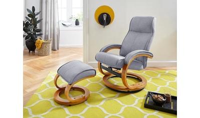 my home Relaxsessel »Lille«, aus weichem Luxus-Microfaser Bezug und einem schönen... kaufen