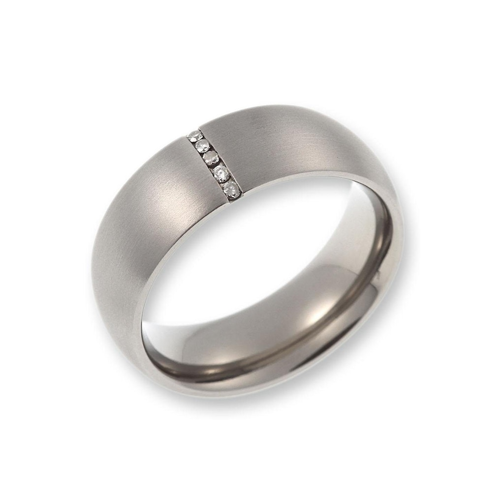 CORE by Schumann Design Trauring »20006166-DR, 20006166-HR, ST044.06«, Made in Germany - wahlweise mit oder ohne Diamanten