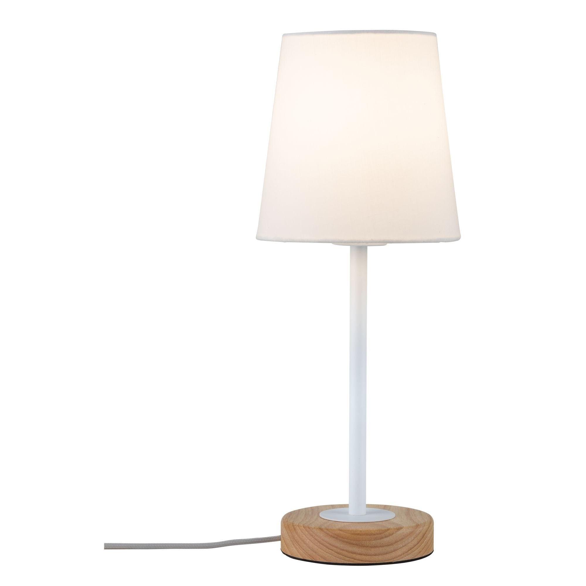 Paulmann,LED Tischleuchte Neordic Stellan Weiß/Holz