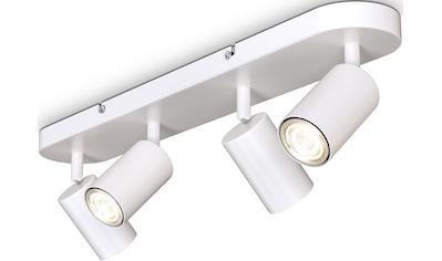 B.K.Licht Deckenspots, GU10, 1 St., 4-flammige Spotlampe,schwenkbar, drehbar, GU10,... kaufen