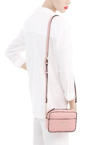 Calvin Klein Mini Bag »RE-LOCK CAMERA BAG W/PCKT«, mit silberfarbenen Details kaufen