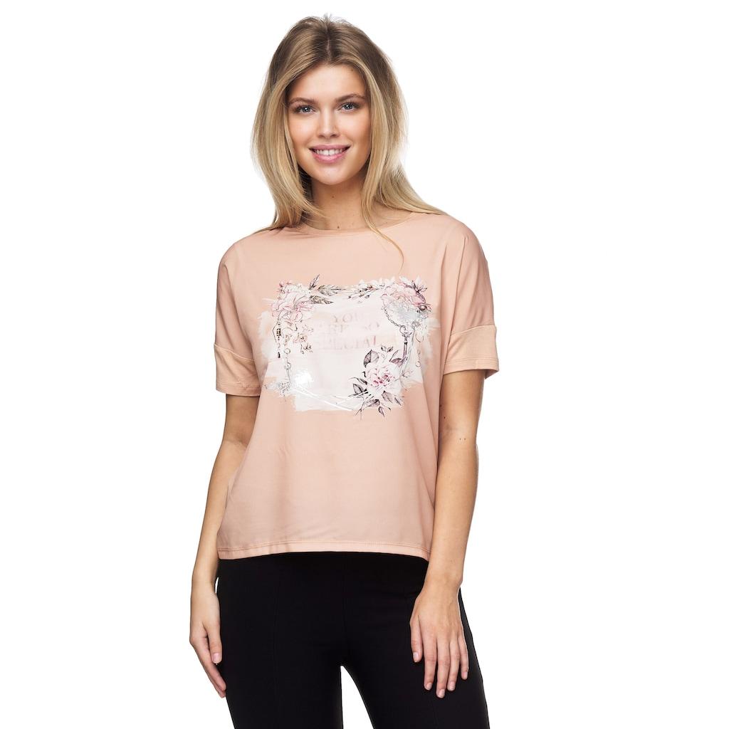 Decay T-Shirt, mit tollem Blumenkranz-Motiv