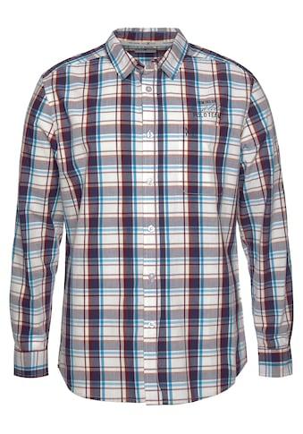 TOM TAILOR Polo Team Langarmhemd, mit Logostickerei kaufen