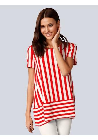 Alba Moda Shirt in Streifenoptik kaufen