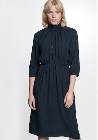 seidensticker Sommerkleid »Schwarze Rose«, 3/4 Arm Kragen Uni kaufen