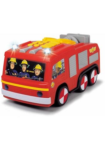 Dickie Toys Spielzeug-Feuerwehr »Feuerwehrmann Sam Super Tech Jupiter«, mit Licht und... kaufen