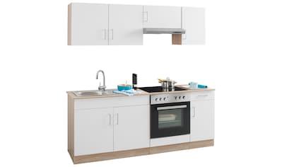 HELD MÖBEL Küchenzeile »Melbourne«, mit E - Geräten, Breite 200 cm kaufen