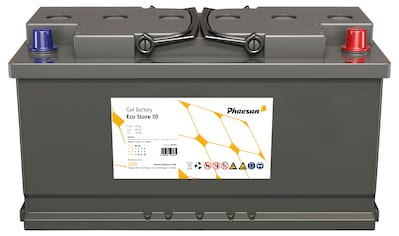 Phaesun Solarakkus »Eco Store 70«, 12 V, 70 Ah (C100), 60 Ah (C20), 12 VDC kaufen