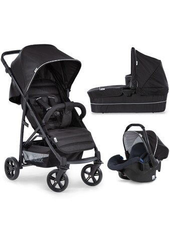 Hauck Kombi-Kinderwagen »Rapid 4 Plus TrioSet, caviar/black«, mit Babyschale kaufen