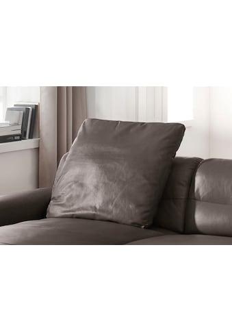 W.SCHILLIG Sofakissen »william«, Leder-Rückenkissen, 70x70 cm kaufen