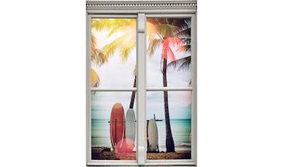 queence Wandsticker »Surfstrand« kaufen