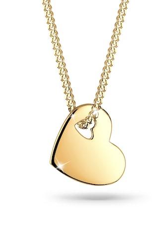 Elli Collierkettchen »Herz Symbol Cut Out 925 Sterling Silber« kaufen
