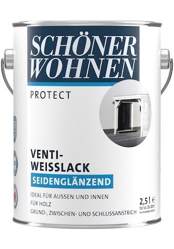 SCHÖNER WOHNEN-Kollektion Weißlack »Protect Venti-Weisslack«, seidenglänzend, 2500 ml kaufen