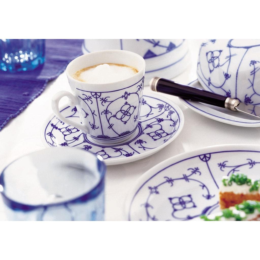 Eschenbach Kaffeeservice »Winterling - Indischblau«, (18 tlg.), Made in Germany