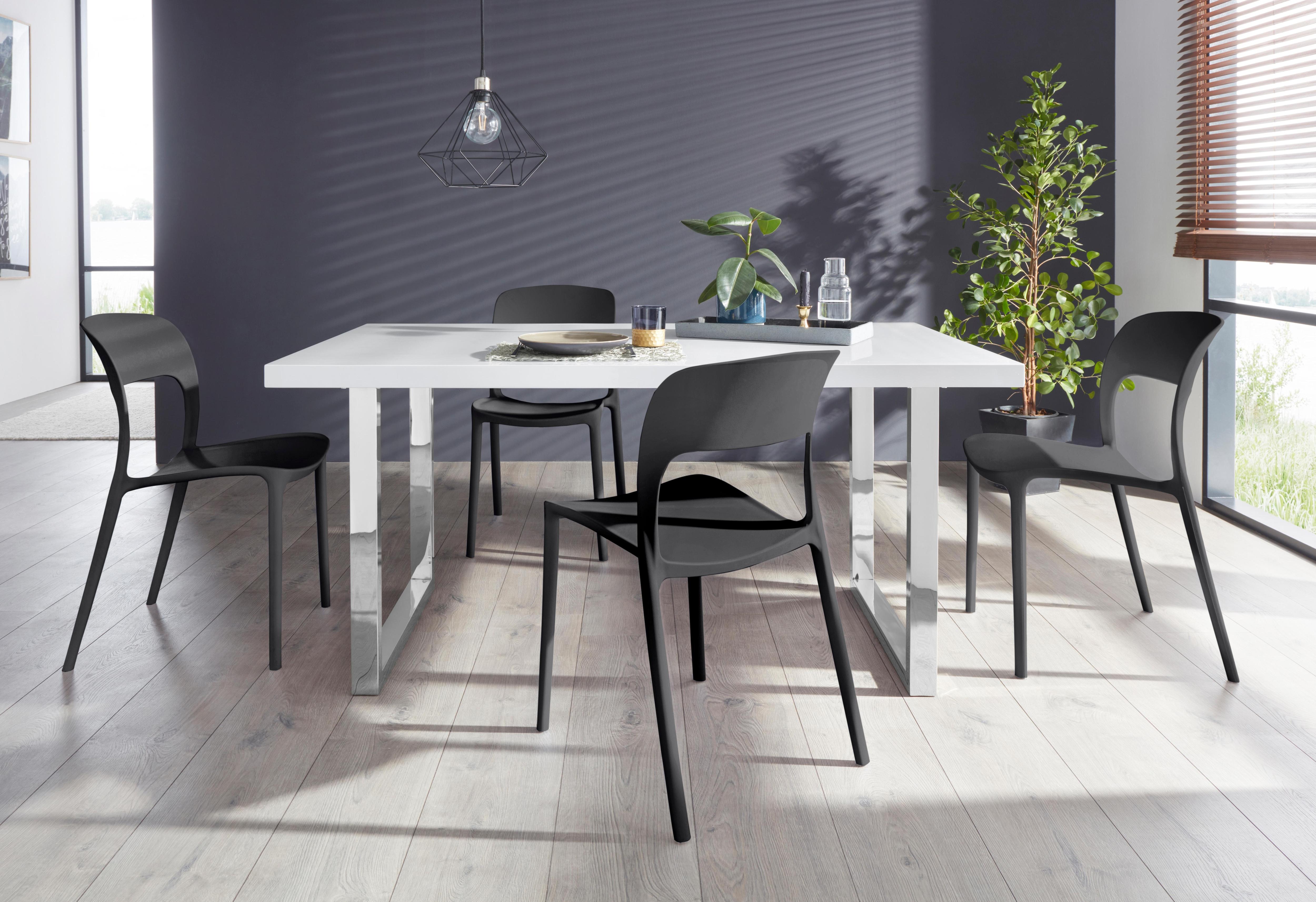 Essgruppe Manger/Florian 160 mit 4 Stühlen